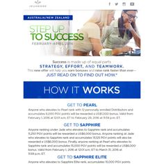 Attention #Australia and #NewZealand:  This is for you !!! Jeunesse Global is offering a NEW promo called Step up to Success. Serious Cash to earn. $6000usd when you achieve Sapphire Rank and points by March 31st and $9000usd when you achieve Sapphire Elite plus and points April 30th. $9000.Do read all the details!  Click the link in the BIO AND contact me TODAY to become a Jeunesse Global Distributor and earn this amazing BONUS !  Who's up for a challenge ??? #savemoney #bonus #cashprize…