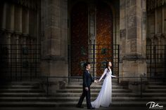 pre wedding photo prague castle