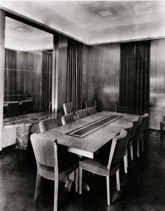 1000 images about art deco dining room on pinterest for Decoration maison 1930 lille