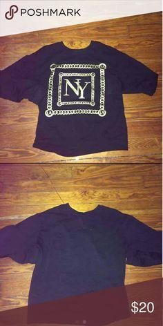 Gold Chain SweatShirt Brand New Forever21 Medium Forever 21 Other