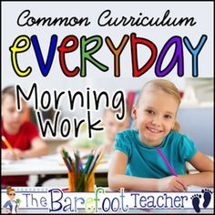 Morning Work: Common Curriculum Everyday - A Bundle of Daily Activities made… Weather Activities For Kids, Father's Day Activities, Ocean Activities, Interactive Activities, Writing Activities, Interactive Notebooks, Kindergarten Morning Work, Kindergarten Readiness, Kindergarten Classroom
