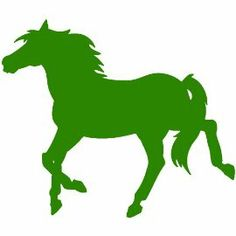 Horse Decal Sticker. Available in 19 colors! $