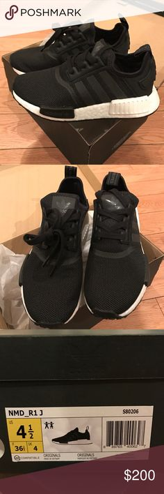 Adidas Women Shoes - Adidas NMD_r1 Core black/black/running white. Fits women 6.5-7 BRAND NEW NEVER WORN WITH BOX Adidas Shoes Sneakers - We reveal the news in sneakers for spring summer 2017