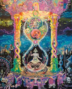 Visionary art is art that purports to transcend the physical world and portray a wider vision of awareness including spiritual or mystical themes,. Spiritual Art, Surreal Art, Art Drawings, Fantasy Art, Hippie Art, Psychedelic Drawings, Art Collage Wall, Visionary Art, Aesthetic Art