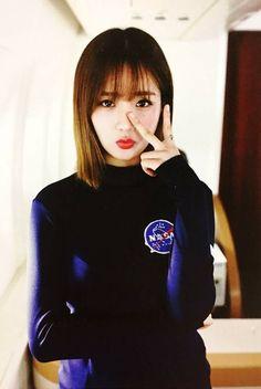 Yoon Bomi Pop Group, Girl Group, Pink Panda, Eun Ji, Pretty Asian, The Most Beautiful Girl, Girl Crushes, Korean Girl, Turtle Neck