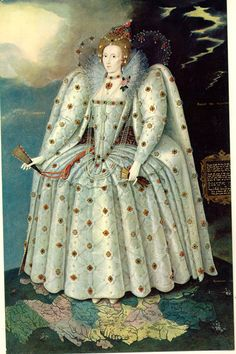 Queen Elizabeth I: The Ditchley Portrait by Marcus Gheeraerts the Younger, circa 1592 http://www.npg.org.uk/collections/search/portrait/mw02079/Queen-Elizabeth-I-The-Ditchley-portrait