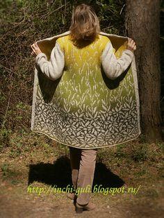 9826c67d6702a8 inchi s Карамельная осень. Knit StrandedKnitted Coat PatternFair Isle ...