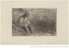 Paysan, le père Melon : [estampe] ([6e état]) / [Camille Pissarro]