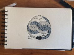 #DailySketch 288 #Inktober 15 #Amulet #Auryn from #NeverendingStory #Inktober2015 #Drawlloween #Drawlloween2015 #ink #BlackAndWhite