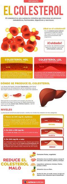 El colesterol #infografia