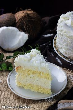 Baking Recipes, Cake Recipes, Dream Cake, Food Cakes, Vanilla Cake, Donuts, Sweet Tooth, Bakery, Cheesecake