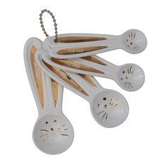 Ceramic Bunny Measuring Spoons