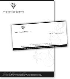 Diamond Suite Letter head and compliment slip design Design Agency, Logo Design, Graphic Design, Compliment Slip, Affordable Web Design, Corporate Id, Letterhead, Birmingham, Logo Branding