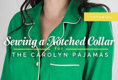 sewing notched colla