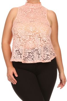 I know that women's family She is a bitch! Laughing They good people like to joke But diet rich lean good work out thick will love pictures of curvacious sexy body! Plus Size Women's Tops, Lace Design, See Through, Sexy Body, Floral Lace, Camisole Top, Tank Tops, Venus, Laughing