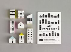 Calendario de adviento de papel automontable Paper City de Mr. Printable en Mr. P Shop / Advent Calendar Home assembly Paper City by Mr. Printable in Mr. P Shop
