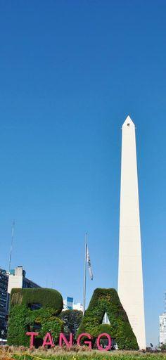Un lindo miernes en Buenos Aires! Arrancamos el finde largo! #miernes #viernes #miercoles #findesemana #largo #obelisco #buenosaires #ba #jardin #vertical #verde #mirandabosch