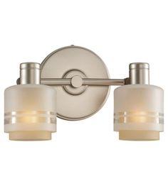 Sea Gull Lighting Groove 2 Light Wall / Bath / Vanity in Golden Pewter 44731-853 | Lighting New York