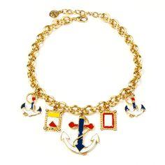 Riviera nautical charm necklace by Ben-Amun
