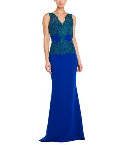 blueBadgley Mischka Blue