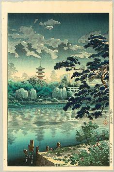 Tsuchiya Koitsu Title:Shinobazu Pond Date:1939.