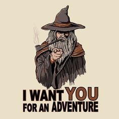 I WANT YOU FOR AN ADVENTURE | Unisex T-Shirt