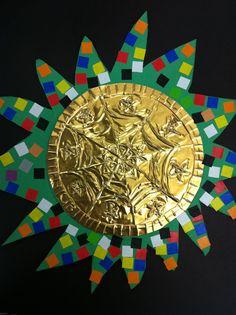 Art Room 104: 6th Grade: Mexican Folk Art Mirrors South American Art, American History, Native American, Hispanic Art, Latino Art, Spanish Art, Learn Spanish, 6th Grade Art, Mexico Art