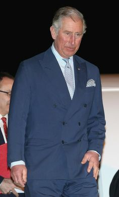 Prince Charles, Prince of Wales arrives at Doha airport from Saudia Arabia on February 19, 2014 in Doha, Qatar