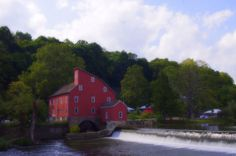 The Historic Red Mill ~ Clinton N.J