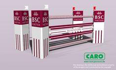 CARO - parcours design by Frank Rothenberger - Sponsoren Hindernisse