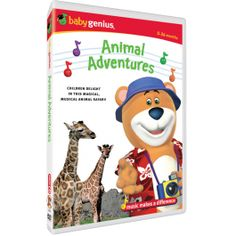 Animal Adventures- A magical, musical safari where children safely and securely feed gentle giraffes, experience playful monkeys and take a railway trip past animals in their natural environments. For only $9.98