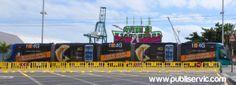 Rotulación Tranvía Orange. Contacta con nosotros en el 922 646 824 o vía email a mailto:comercial@... #rotulacion #vehiculo #tranvia #publiservic Tenerife, Signs, Canary Islands, Advertising, Teneriffe, Shop Signs, Sign