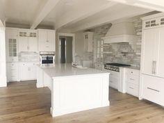 Home - Pioneer Cabinetry Apron Front Sink, White Quartz, Quartz Countertops, Estate Homes, Flooring, Kitchen, Design, Home Decor, Cooking