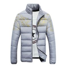 QualityUC Mens Clothes Collection Tribal Print Winter Jacket