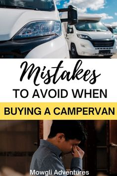 A campervan buying guide to help you avoid these critical campervan mistakes! Make sure you're buying a solid campervan with this guide to RV mistakes | van buying guide | campervan conversion guide | how to buy a campervan | Build A Camper Van, Diy Camper, Van Conversion Campervan, Best Campervan, Buying An Rv, Campervan Interior, Rv Travel, House On Wheels, How To Make Notes