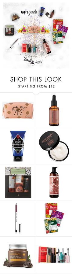 """""""Beauty Faves"""" by papillon-ze-cat ❤ liked on Polyvore featuring beauty, Zoella Beauty, Josie Maran, Jack Black, Korres, Marc Jacobs, Leaders, Innisfree, Sephora Collection and beautyfaves"""