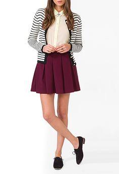 Forever 21 Sheer Peter Pan Collar Shirt. Cute preppy look. Blair Waldorf style.