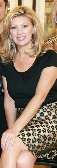 So much a lady. Real class. K  I am pleased to see Debbie Osmond aging gracefully, without botox / fillers.  She is still very pretty, very feminine.  I want to age this way.