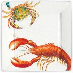 Lobster Dinner Paper Plates