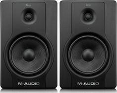M-Audio BX8 D2 http://ehomerecordingstudio.com/cheap-studio-monitors/