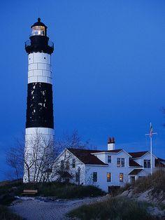 Big Sable Point Lighthouse, Ludington Michigan