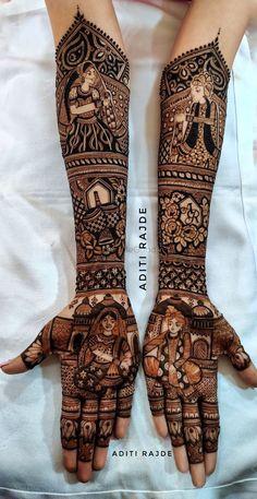 Mehndi Designs Bridal Hands, Wedding Henna Designs, Engagement Mehndi Designs, Legs Mehndi Design, Full Hand Mehndi Designs, Mehndi Designs Book, Modern Mehndi Designs, Mehndi Designs For Girls, Mehndi Designs For Beginners
