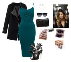 """""""Classy"""" by hanakdudley ❤ liked on Polyvore featuring Giuseppe Zanotti, Yves Saint Laurent, Tiffany & Co., GUESS and alfa.K"""