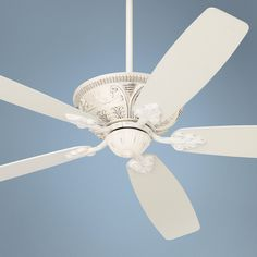 "60"" Casa Montego™ Rubbed-White Ceiling Fan"