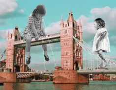 london playground / collage