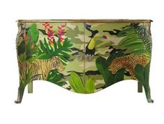 Moissonnier - Buffet haut-Moissonnier-Jungle