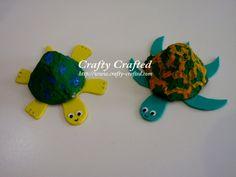 egg carton tortoise