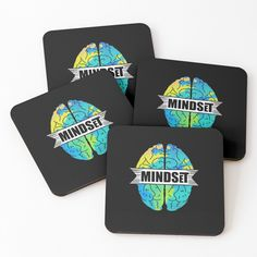 'travel mindset' Coasters by mikenotis Coaster Design, Coaster Set, Cool Coasters, Canvas Prints, Art Prints, Cold Drinks, Sell Your Art, Mindset, Vibrant