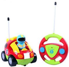 Amazon.com: Cartoon R/C Race Car Radio Control Toy for Toddlers by Liberty Imports (ENGLISH Packaging): Toys & Games