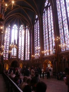 Saint Chapelle Cathedral, France